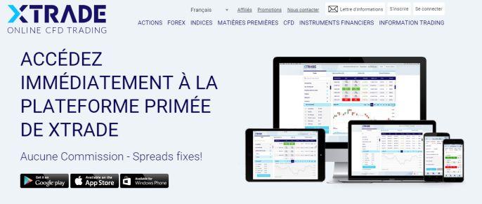 Plateforme forex en ligne