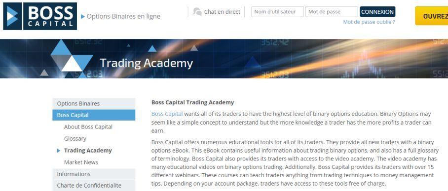 Boss Capital en anglais