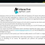 InteractiveOption suspension