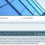 FSMA option binaire