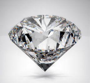 Placement diamant