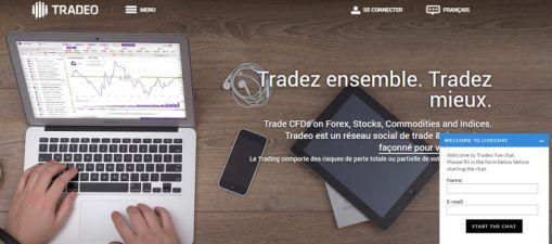 Avis sur la plateforme de trading Tradeo