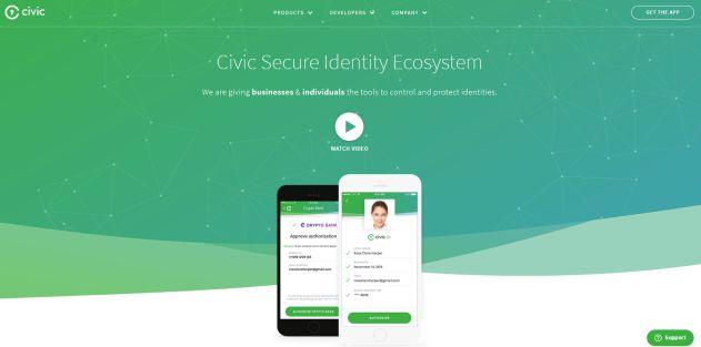 Civic crypto-monnaie CVC