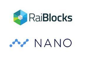 Crypto monnaie RaiBlocks Nano