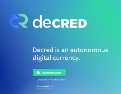 Crypto monnaie Decred (DCR)