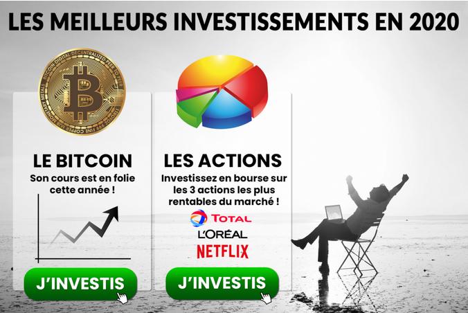 meilleurs investissements 2020