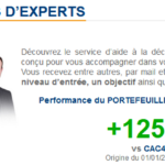 Info d'experts sur Bourse Direct