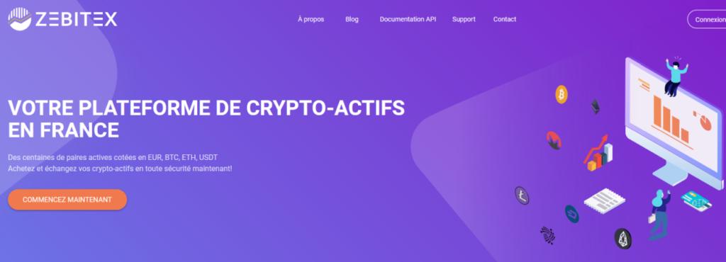 zebitex : plateforme de crypto monnaie