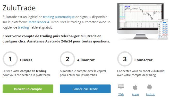 trading automatique Avatrade