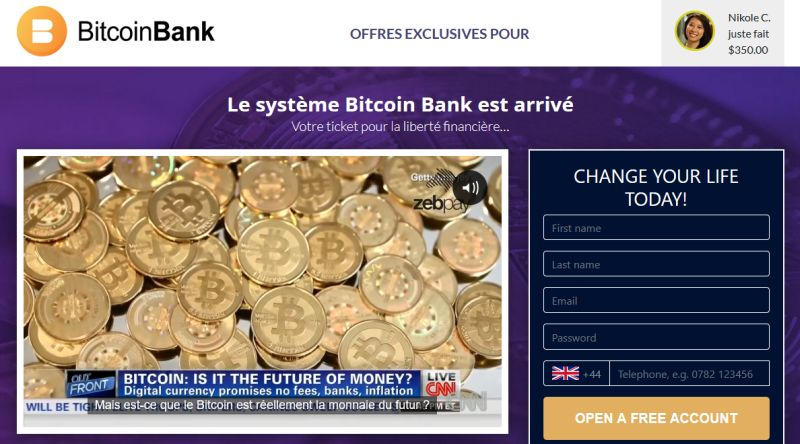 Bitcoin Bank avis